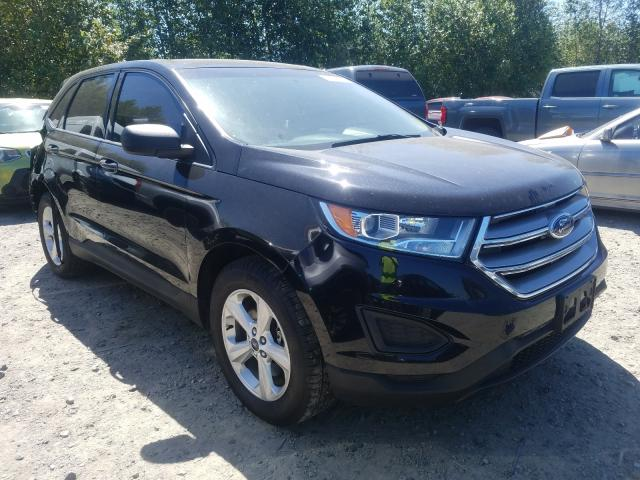 Ford Edge SE salvage cars for sale: 2017 Ford Edge SE
