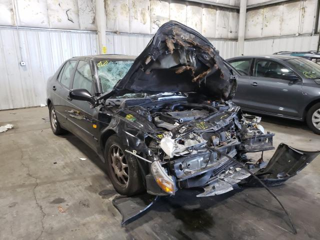 Saab salvage cars for sale: 2000 Saab 9-5
