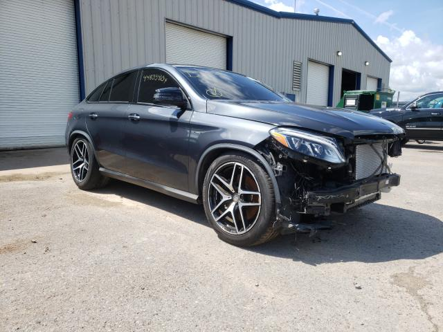 Salvage cars for sale from Copart Central Square, NY: 2016 Mercedes-Benz GLE Coupe