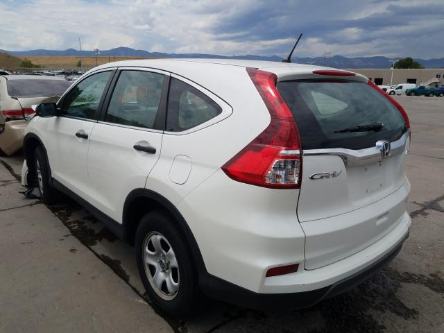 купить 2015 HONDA CR-V LX 5J6RM4H37FL095269
