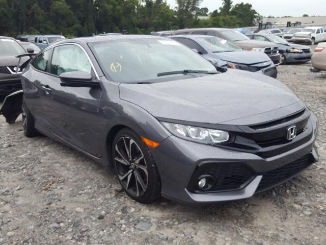 Salvage cars for sale from Copart Tifton, GA: 2018 Honda Civic SI