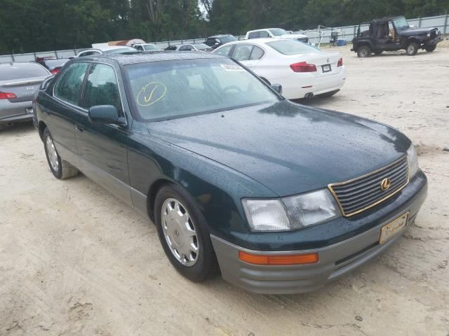 Salvage cars for sale from Copart Ocala, FL: 1996 Lexus LS 400