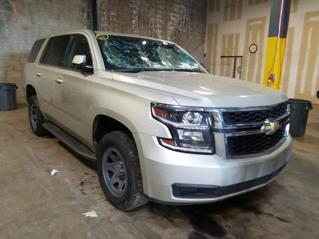 Chevrolet Tahoe Police salvage cars for sale: 2015 Chevrolet Tahoe Police