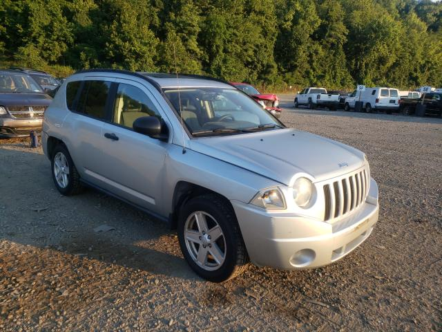 Jeep salvage cars for sale: 2007 Jeep Compass