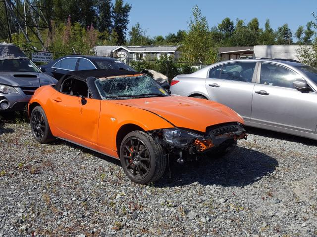 Salvage cars for sale from Copart Rocky View County, AB: 2019 Mazda MX-5 Miata