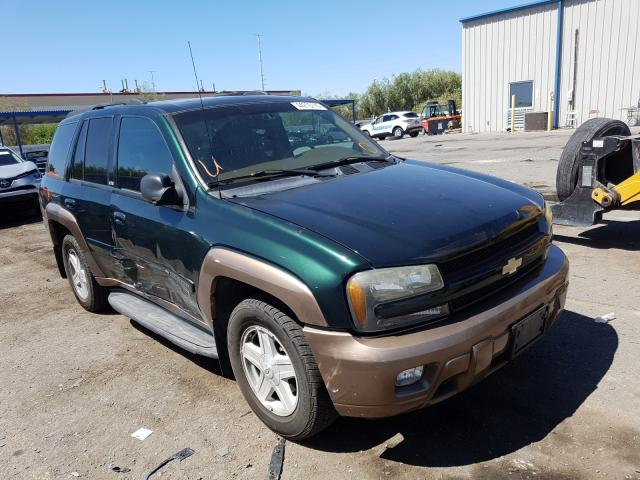 Chevrolet Trailblazer salvage cars for sale: 2003 Chevrolet Trailblazer