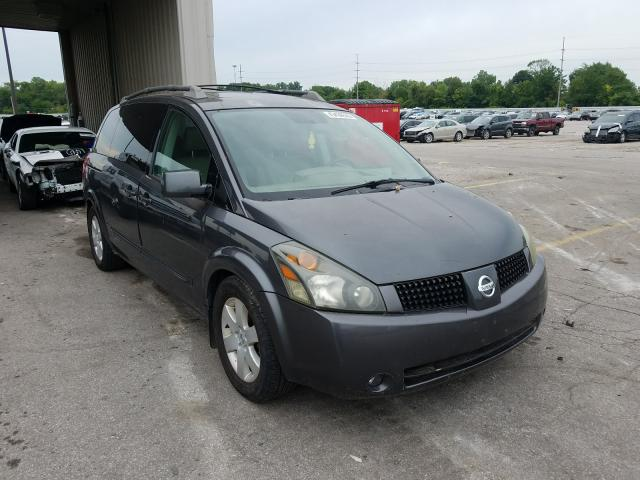 Nissan Quest S salvage cars for sale: 2005 Nissan Quest S