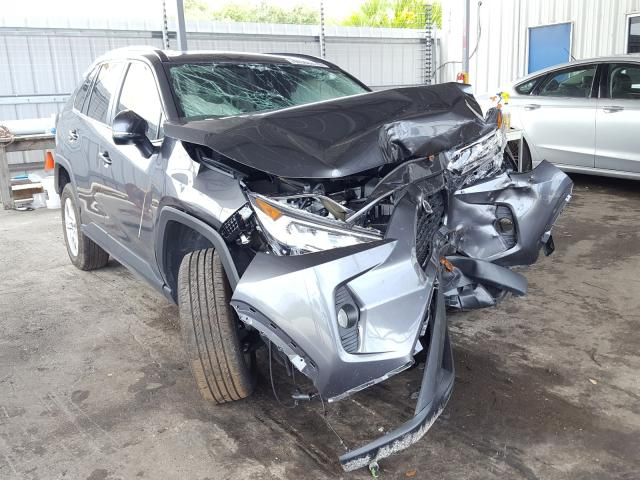 Salvage cars for sale from Copart Orlando, FL: 2019 Toyota Rav4 XLE