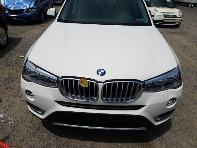 5UXWX9C35H0W76096 2017 BMW X3 XDRIVE28I