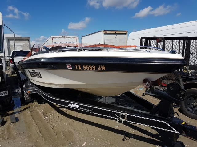 Salvage cars for sale from Copart Houston, TX: 2001 Malibu Boat