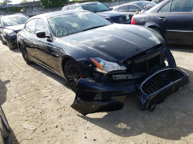 Maserati salvage cars for sale: 2014 Maserati Quattropor
