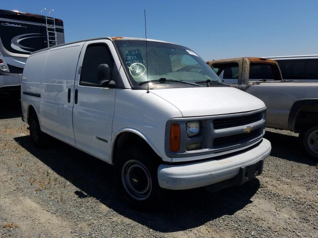 Chevrolet Express G2 salvage cars for sale: 2001 Chevrolet Express G2
