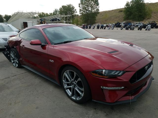 Vehiculos salvage en venta de Copart Littleton, CO: 2018 Ford Mustang GT
