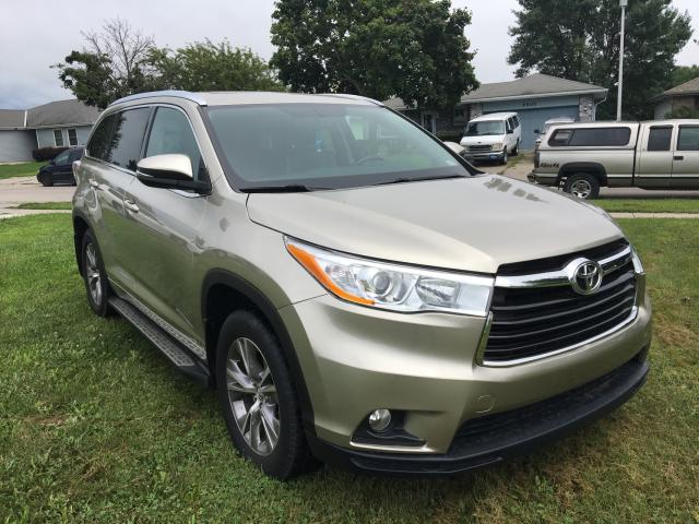 Salvage cars for sale from Copart Greenwood, NE: 2015 Toyota Highlander