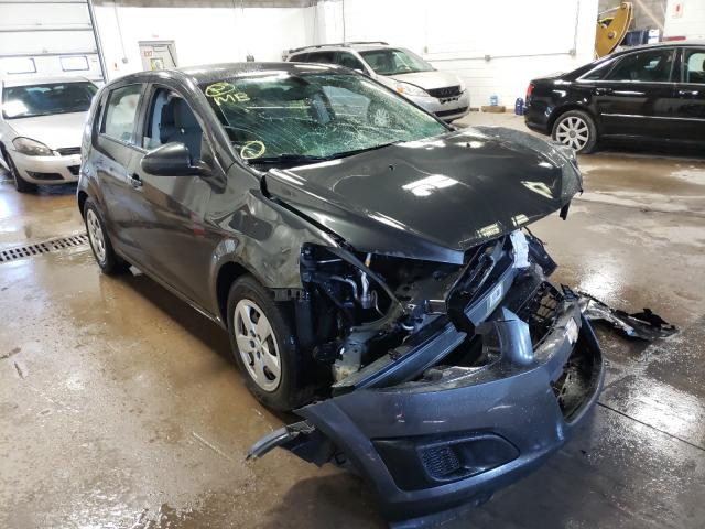 Salvage cars for sale at Blaine, MN auction: 2016 Chevrolet Sonic LS
