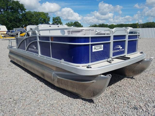 Bennche Pontoon salvage cars for sale: 2020 Bennche Pontoon