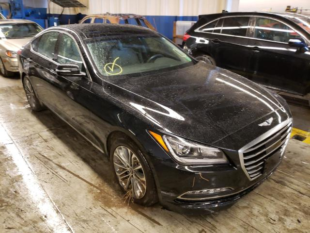 Genesis salvage cars for sale: 2017 Genesis G80 Base