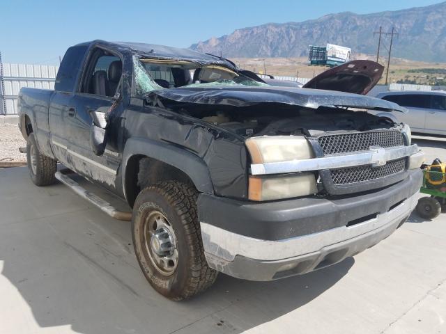 Salvage trucks for sale at Farr West, UT auction: 2003 Chevrolet Silverado