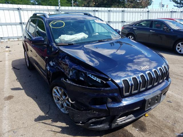 Salvage cars for sale from Copart Moraine, OH: 2014 Jeep Cherokee L