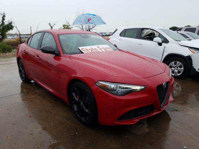 Alfa Romeo salvage cars for sale: 2020 Alfa Romeo Giulia