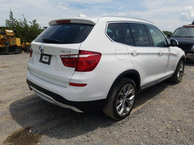 цена в сша 2017 BMW X3 XDRIVE28I 5UXWX9C35H0W76096