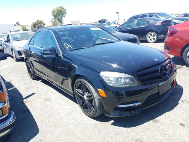 Mercedes-Benz C 350 salvage cars for sale: 2011 Mercedes-Benz C 350