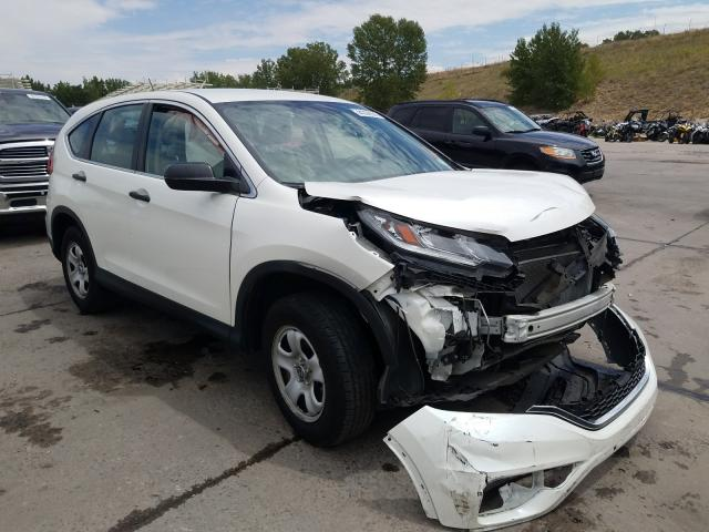 Vehiculos salvage en venta de Copart Littleton, CO: 2015 Honda CR-V LX