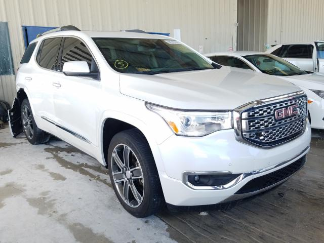 Salvage cars for sale from Copart Homestead, FL: 2018 GMC Acadia DEN