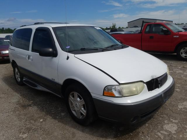 Mercury Villager S salvage cars for sale: 2002 Mercury Villager S