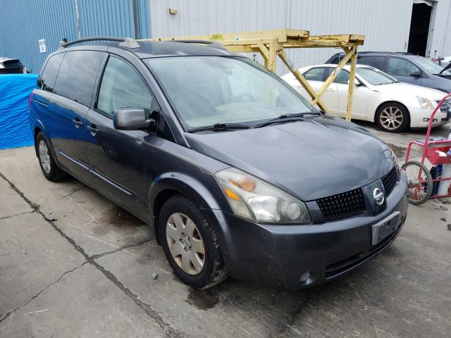 Salvage cars for sale from Copart Windsor, NJ: 2005 Nissan Quest S