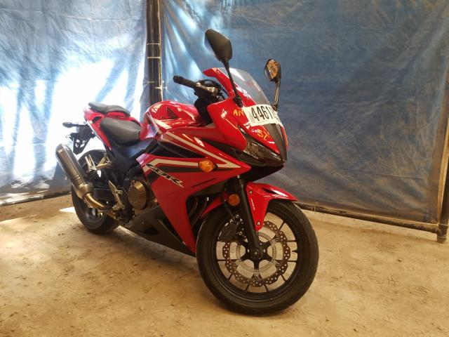 Salvage cars for sale from Copart London, ON: 2016 Honda CBR500 RA