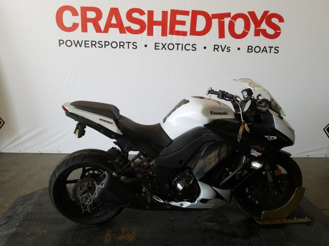 Salvage cars for sale from Copart San Diego, CA: 2013 Kawasaki ZX1000 G