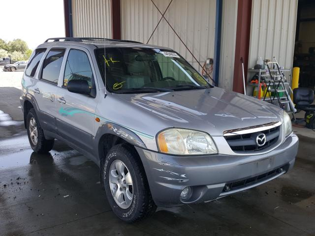 Mazda Tribute LX salvage cars for sale: 2002 Mazda Tribute LX