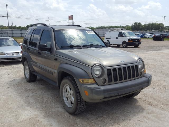 Salvage cars for sale from Copart Newton, AL: 2007 Jeep Liberty SP