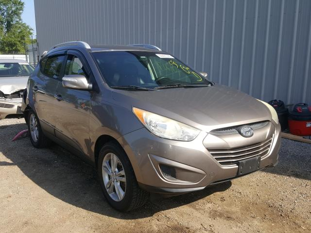 Salvage cars for sale from Copart Harleyville, SC: 2012 Hyundai Tucson GLS