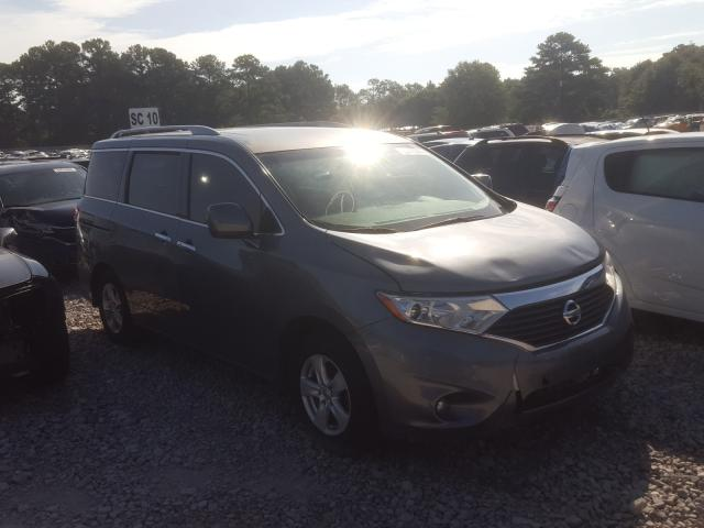 Nissan Quest S salvage cars for sale: 2016 Nissan Quest S