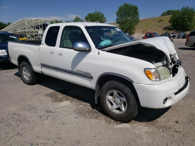 Salvage trucks for sale at Littleton, CO auction: 2003 Toyota Tundra ACC
