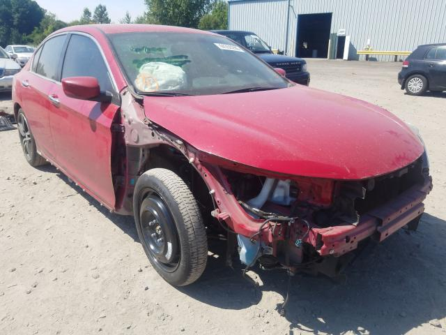 Honda salvage cars for sale: 2016 Honda Accord Sport