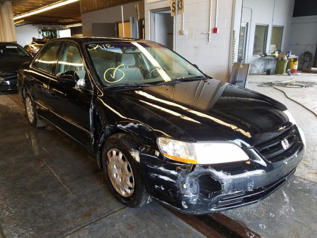 Salvage cars for sale from Copart Wheeling, IL: 2001 Honda Accord LX