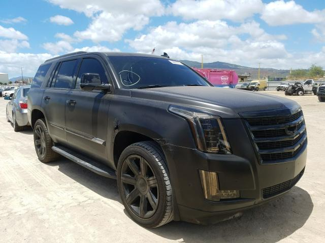 Salvage cars for sale from Copart Kapolei, HI: 2018 Cadillac Escalade L