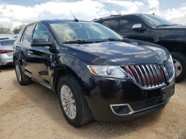 Salvage cars for sale from Copart Mercedes, TX: 2015 Lincoln MKX