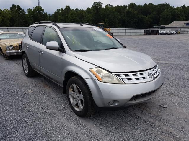 Nissan Murano SL salvage cars for sale: 2003 Nissan Murano SL