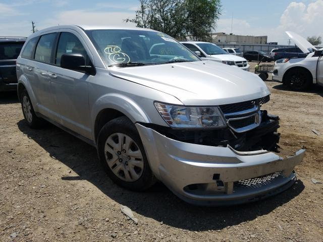 Salvage cars for sale from Copart Mercedes, TX: 2013 Dodge Journey SE