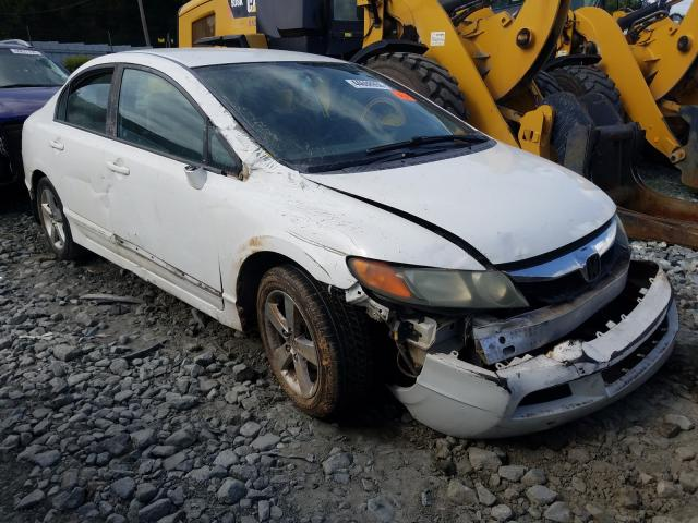 Salvage cars for sale from Copart Mebane, NC: 2010 Honda Civic LX