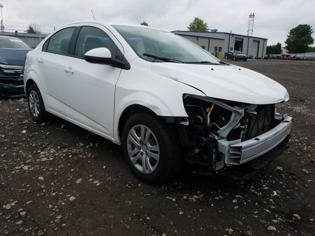 Salvage cars for sale from Copart Finksburg, MD: 2017 Chevrolet Sonic LS