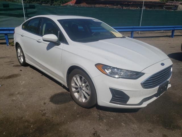 Ford Fusion SE salvage cars for sale: 2020 Ford Fusion SE