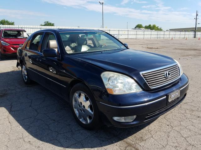 Salvage cars for sale from Copart Lexington, KY: 2002 Lexus LS 430