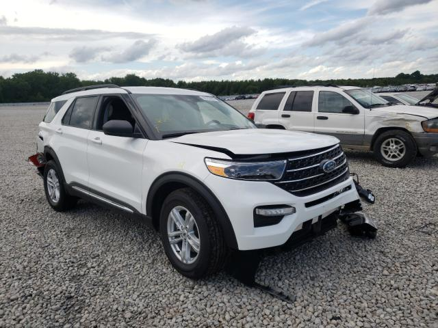 Salvage cars for sale at Memphis, TN auction: 2020 Ford Explorer X