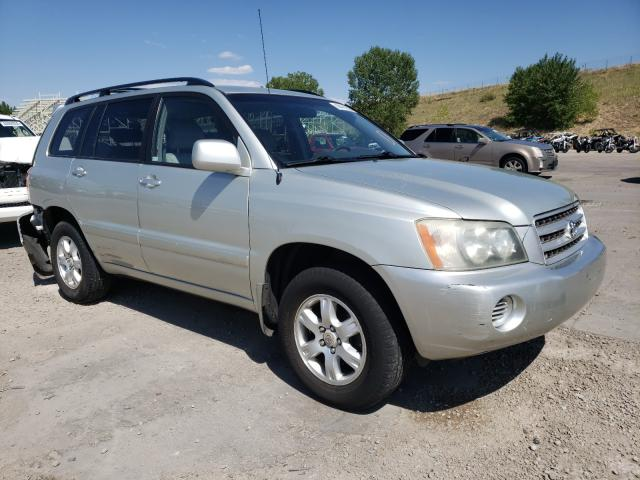 Vehiculos salvage en venta de Copart Littleton, CO: 2003 Toyota Highlander