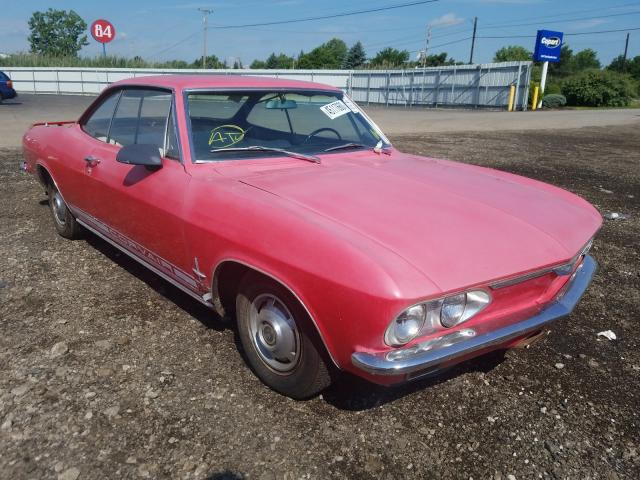 Chevrolet Corvair salvage cars for sale: 1966 Chevrolet Corvair